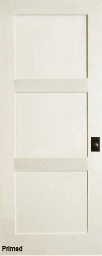 Three Panel Door Interior Primed Mdf 3 Panel Contemporary Interior Doors Homestead Doors