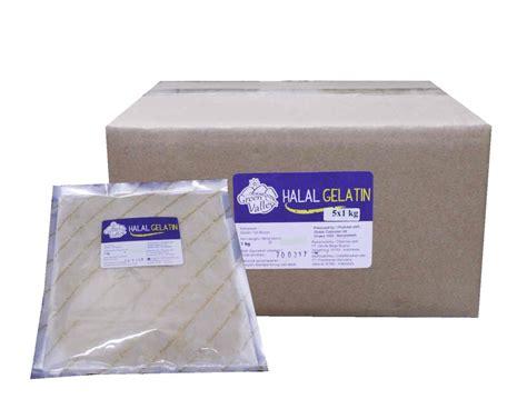 jual halal gelatine 150 bloom 1 kg grosir eceran