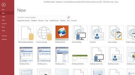 access product database template database software and applications microsoft access