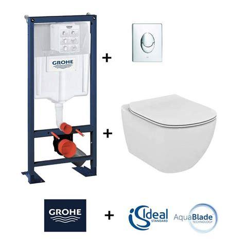 mecanisme chasse d eau wc suspendu grohe 6280 pack wc suspendu groh 233 rapid sl cuvette tesi aquablade