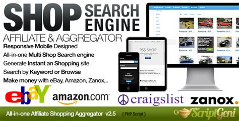 Search Affiliate Instant Affiliate Shopping Search Engine By Vidal Codecanyon