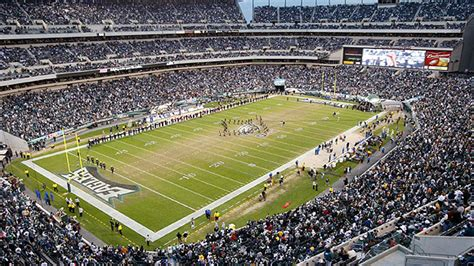 seating capacity of lincoln financial field lincoln financial field