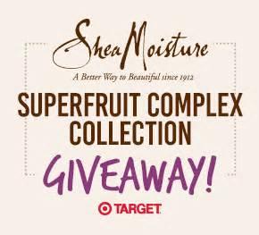 Shea Moisture Giveaway - sheamoisture superfruit collection giveaway