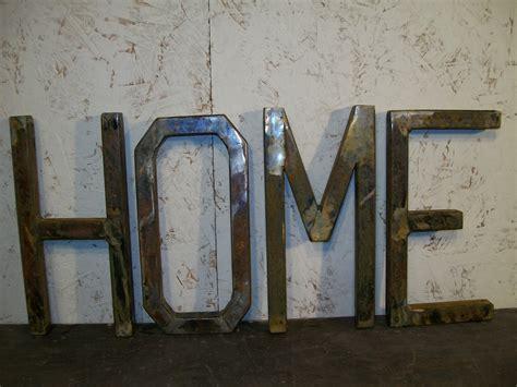Custom Metal Letter custom made metal letters home exle