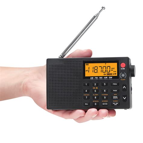 best radio the best pocket radio hammacher schlemmer