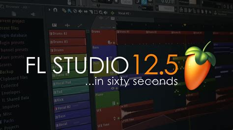 fl studio 12 free download full version youtube fl studio 12 5 in a minute youtube