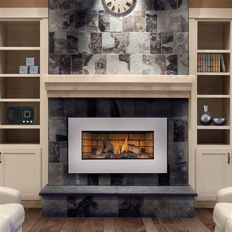 glass gas fireplace inserts napoleon gi3600 4nsb roxbury basic gas fireplace
