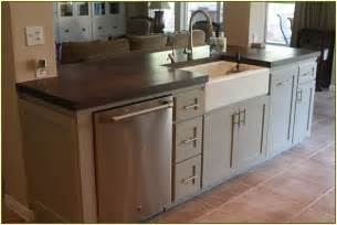 kitchen island with dishwasher and sink best 25 kitchen island with sink ideas on