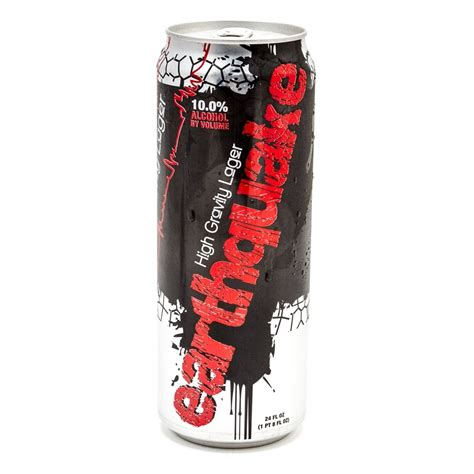 earthquake high gravity lager earthquake high gravity lager 24oz can beer wine