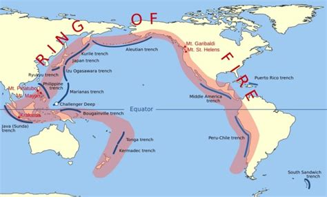 earthquake ring of fire 5 major earthquakes in 48 hours experts warn mega quakes