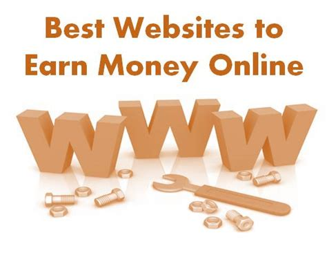 Websites To Make Money Online - 5 useful websites to make money online