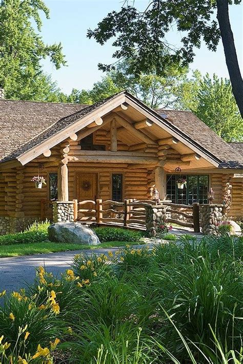 Michigan Cabin Builders by A Rustic Log Home In Michigan Home Cabin Living