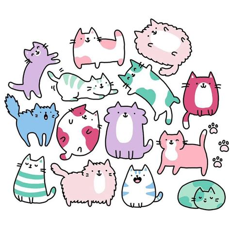 how to draw with doodle cat 1 the 25 best cat doodle ideas on cat