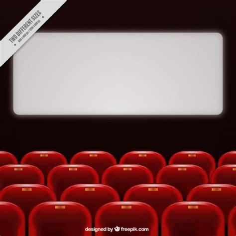 poltrona cinema cinema realista poltronas vermelhas baixar vetores