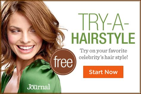 Try Hairstyles On Your by Try New Hairstyles Free