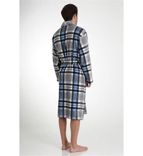 robe de chambre homme arthur robe de chambre longue molletonn 233 e 224 carreaux arthur en