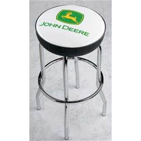 deere geen and yellow logo stool findgift