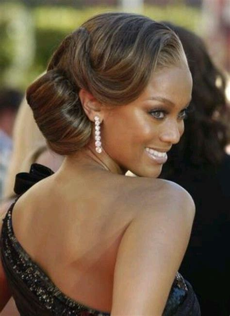 updo hair pieces for black women classic updo hair pinterest vintage inspired updo