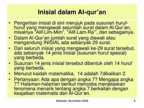 ada apa dengan film alif lam mim ppt rahasia dibalik inisial alif lam mim dalam al qur