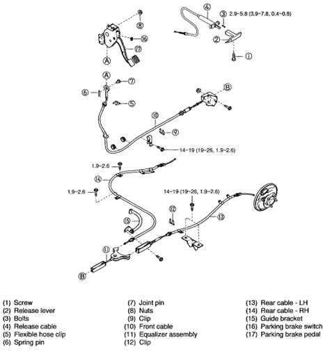 2007 kia spectra brake replacement system diagram how do i adjust emergency brake for kia sedona