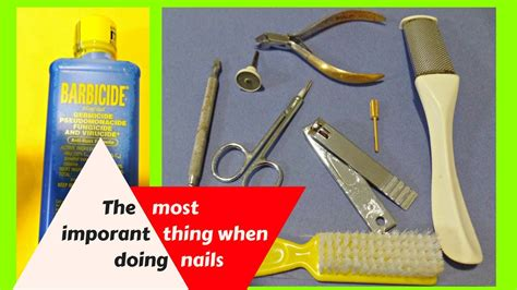 How To Clean Nail Tools