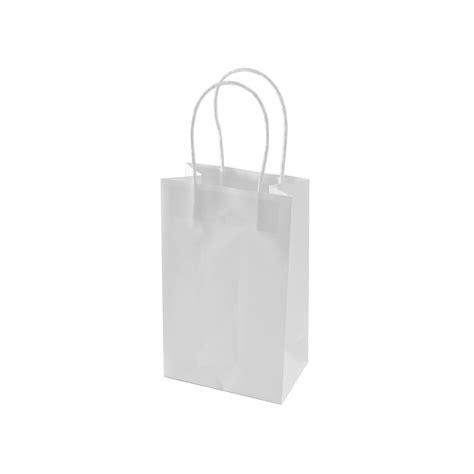 White Paper Craft Bags - light blue paper bags light blue gift bags