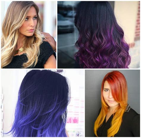 Hair Color Styles 2016 by New Hair Color Combinations For Ombre Hair Best Hair