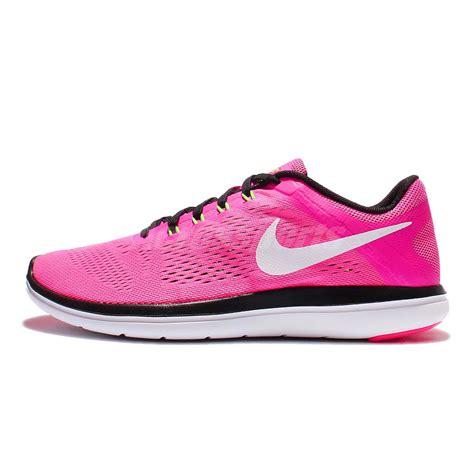 nike flex run womens running shoes wmns nike flex 2016 rn run pink black womens running shoes