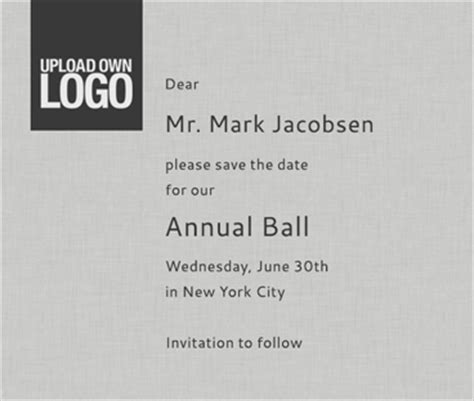 save the date business event templates event save the date card designs