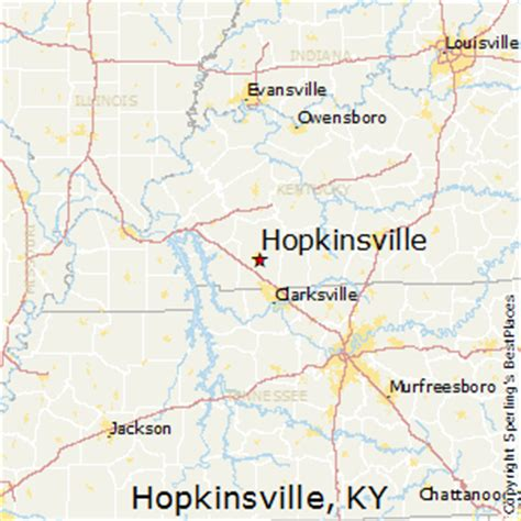 kentucky map hopkinsville best places to live in hopkinsville kentucky