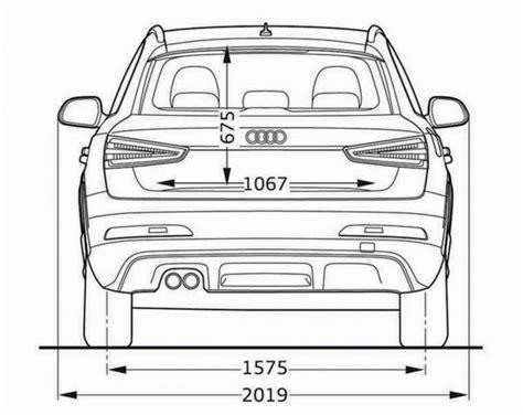 Abmessungen Audi Q3 by Audi Q3 Abmessungen Technische Daten L 228 Nge Breite