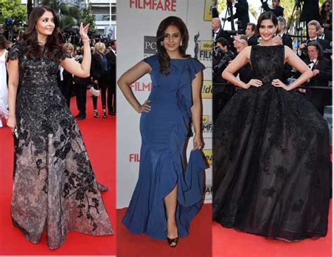 bollywood actress formal dress evening gowns worn by top bollywood celebrities on the red