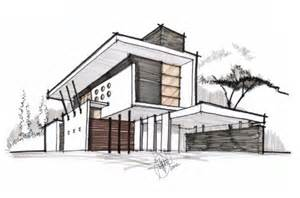 house sketch contemporary residence architectural drawing visit us at