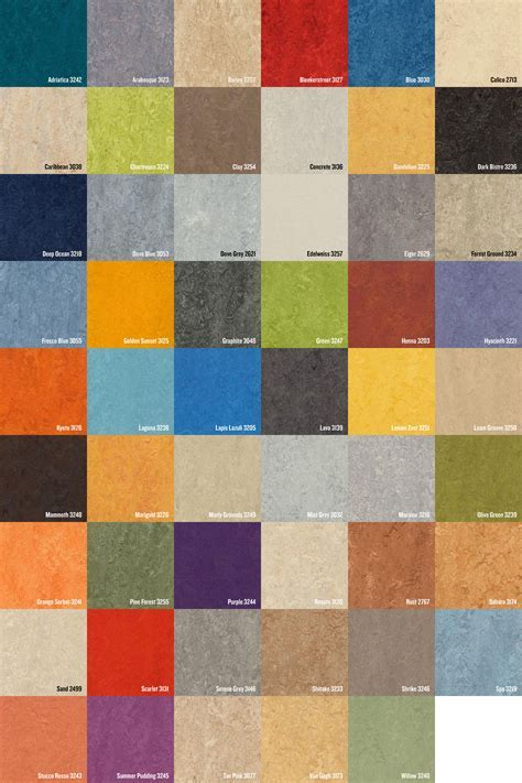 Forbo Marmoleum Sheet & Tile > Green Products, Green