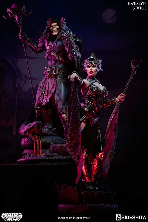 figure universe masters of the universe evil lyn statue by sideshow