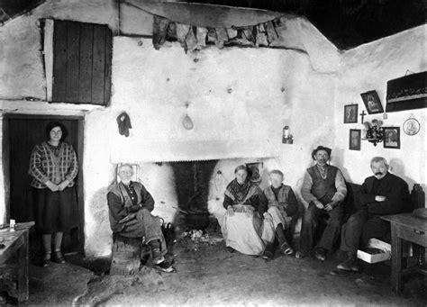 family  hearth inisheer  galway irish cottage