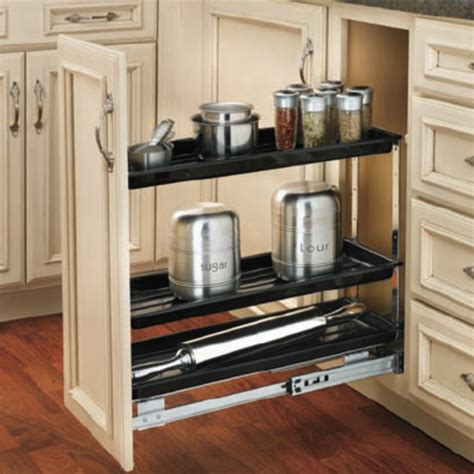 cabinet organizers rev a shelf chrome pull out organizer