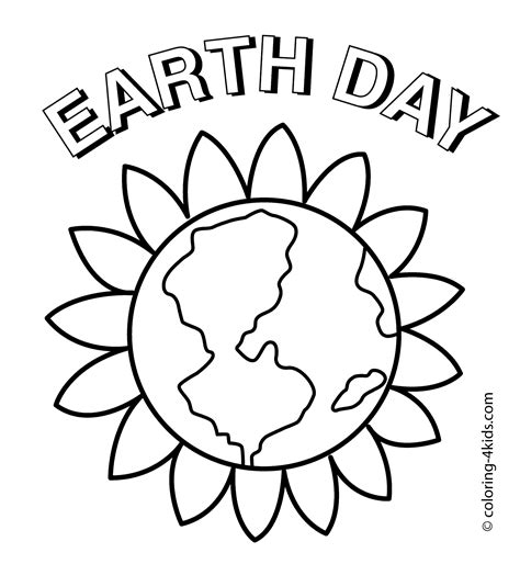 earth day coloring pages preschool earth day coloring pages sketch coloring page