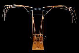 macchina volante leonardo ornitottero