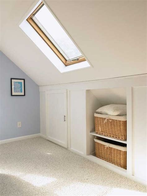closet ideas for attic bedrooms best 25 attic bedroom storage ideas on pinterest