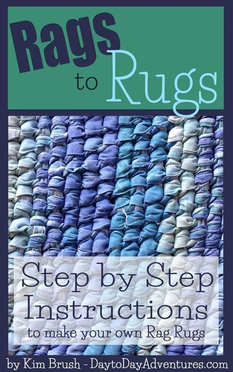 make your own rag rug step by step to make your own rag rugs
