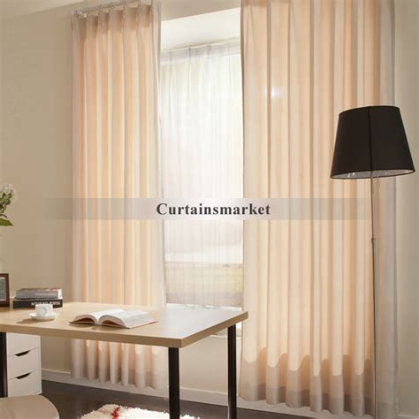 office curtain useful elegant eco friendly home office curtains