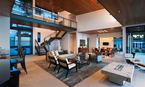 modern open floor plans modern living room open plan house interior design ideas
