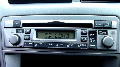 2003 honda civic radio code 2005 honda civic cd player stereo