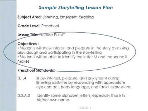 early years lesson plan template early childhood literacy lesson planning