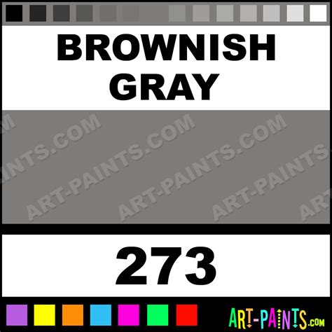 brownish gray color brownish gray artist paints 273 brownish gray