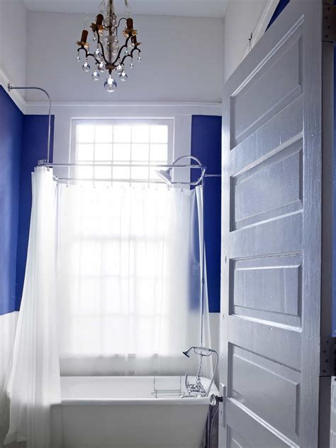 royal blue and white bathroom royal blue bathroom with white slipper tub 51016 house