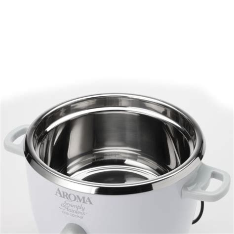 Rice Cooker Stainless aroma simply stainless 6 cup rice cooker