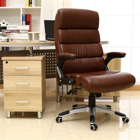 Luxury Desk Chairs by Luxury Reclining Executive Leather Office Desk