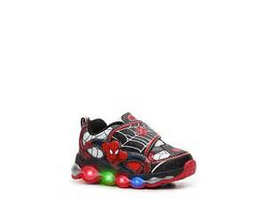 Spiderman Light Up Shoes Disney Spiderman Boys Toddler Light Up Sneakers Dsw